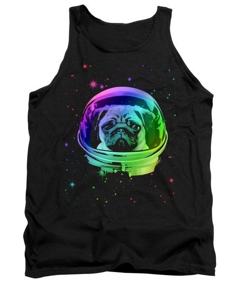 Space Pug Tank Top