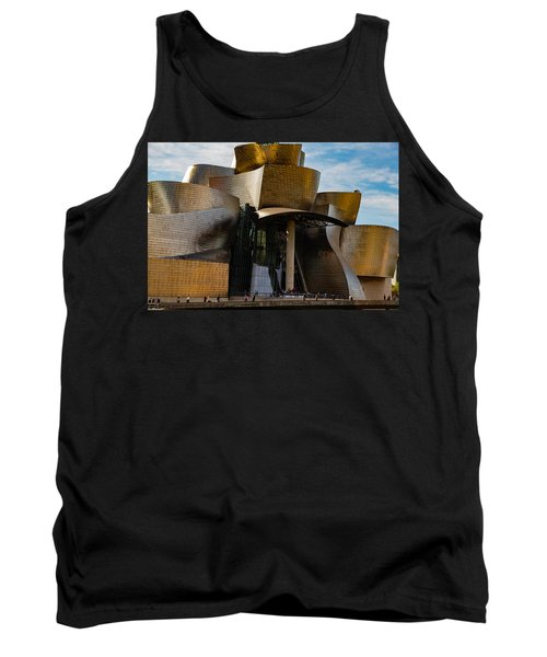 The Guggenheim Museum Spain Bilbao  Tank Top