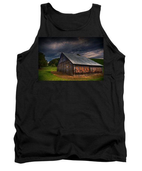 Spark Stoves Barn Tank Top