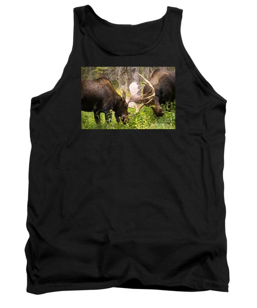 Tank Top featuring the photograph Sparring  by Aaron Whittemore