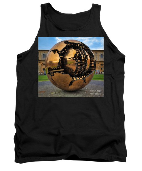 Sphere Within Sphere Tank Top