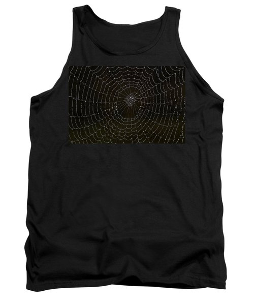 Spider Cobweb  Tank Top