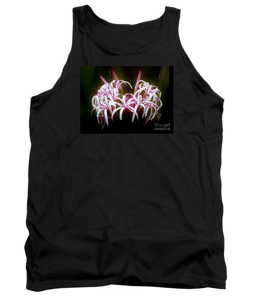 Spider Lilly Tank Top by Amar Sheow