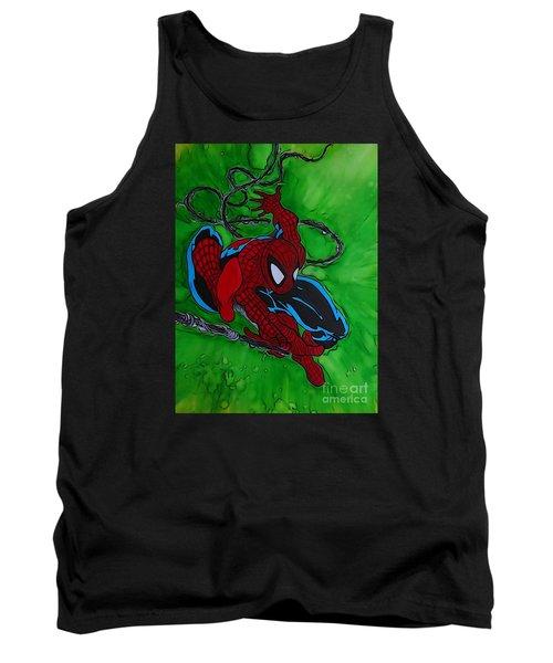 Spiderman 301 Illustration Edition Tank Top
