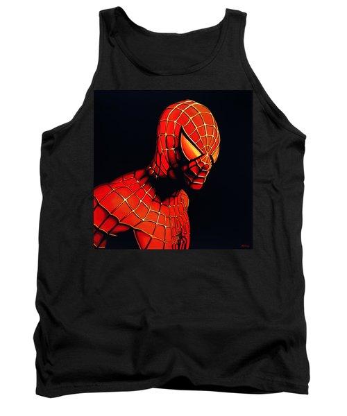 Spiderman Tank Top by Paul Meijering
