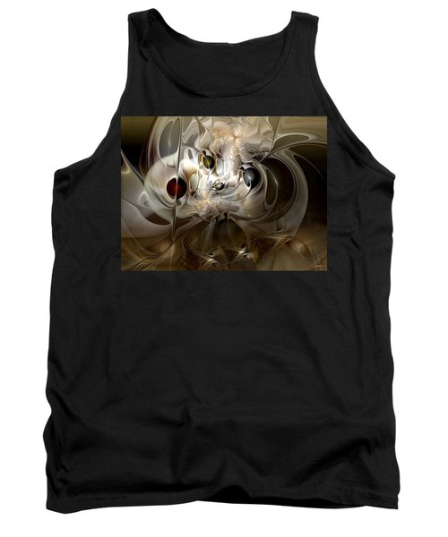 Tank Top featuring the digital art Spiritual Chops by Casey Kotas