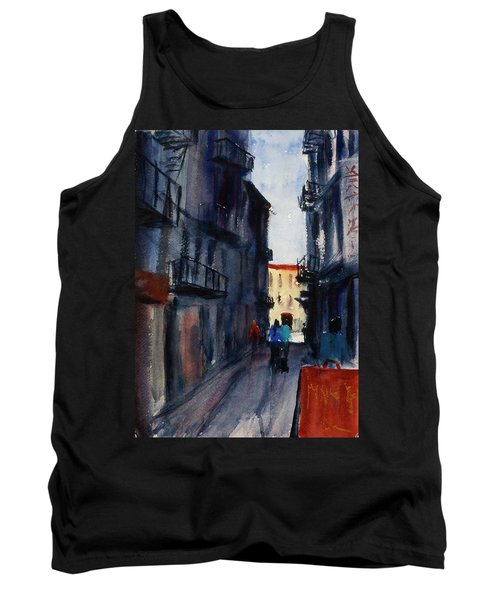 spofford Street5 Tank Top by Tom Simmons