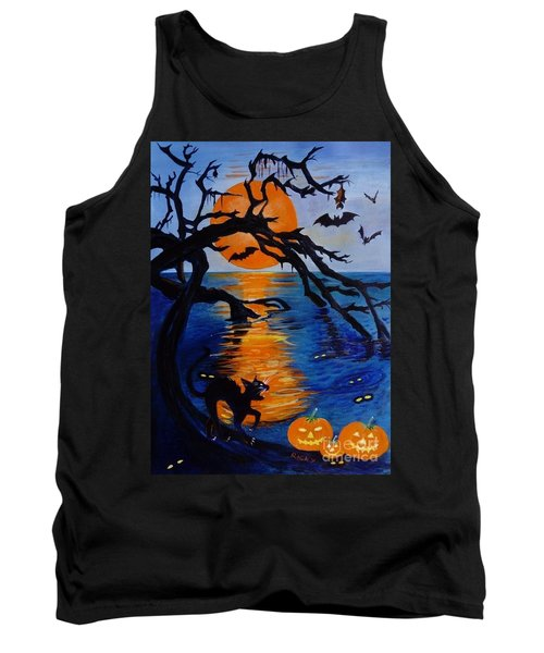 Spooky Hollow - Painting Tank Top
