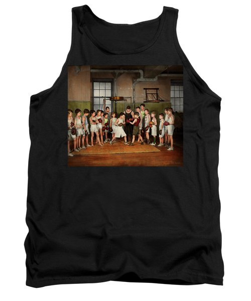 Sport - Boxing - Fists Of Fury 1924 Tank Top by Mike Savad