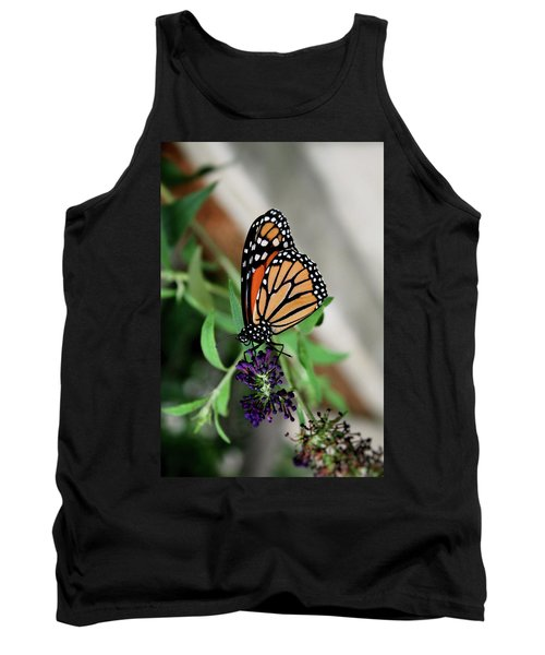 Tank Top featuring the photograph Spotted Butterfly by Cathy Harper
