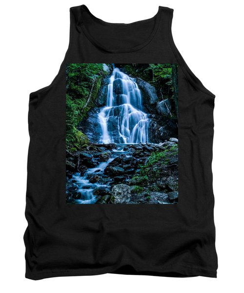 Spring At Moss Glen Falls Tank Top