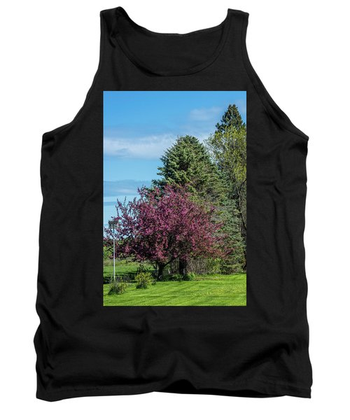 Tank Top featuring the photograph Spring Blossoms by Paul Freidlund