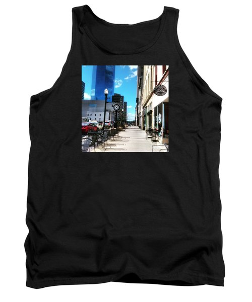 Spring Day In Downtown Lexington, Ky Tank Top
