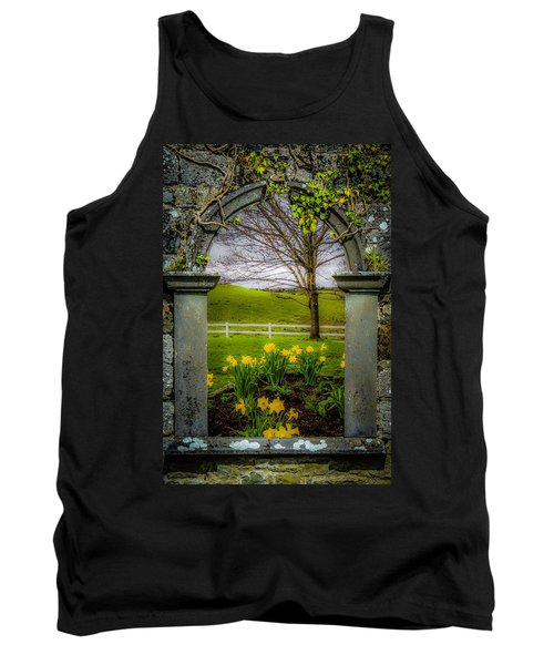 Tank Top featuring the photograph  Spring In Ballynacally, County Clare by James Truett