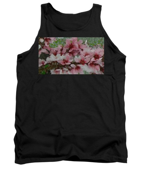 Tank Top featuring the photograph Spring Peach Blossoms by Donna G Smith