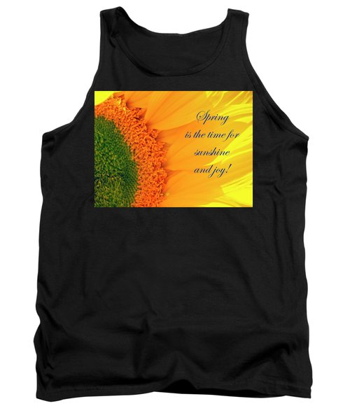 Spring Is The Time Tank Top