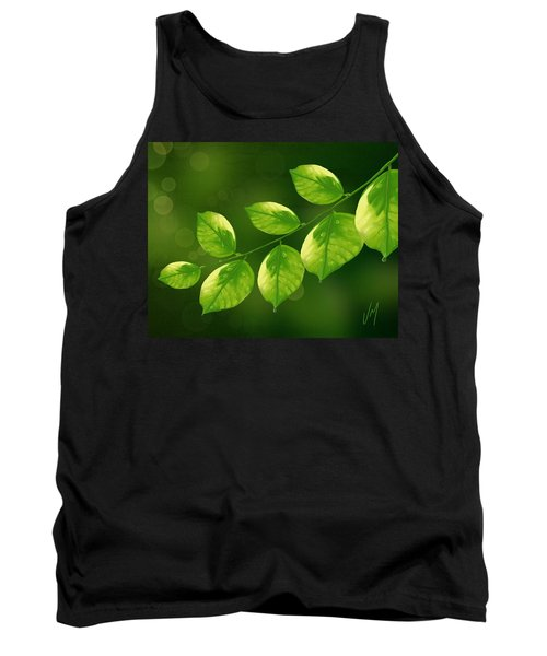 Tank Top featuring the painting Spring Life by Veronica Minozzi