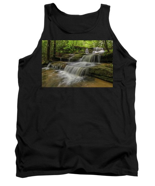 Spring Waterfall. Tank Top