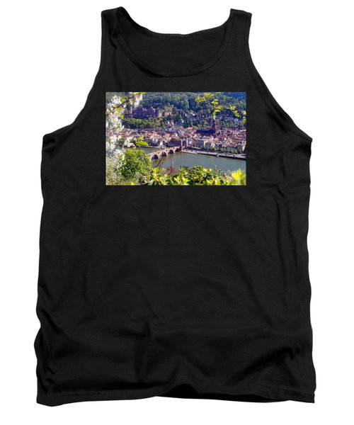 springtime in Heidelberg Tank Top