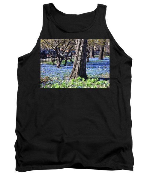 Springtime In The City Tank Top