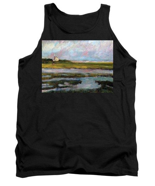 Springtime In The Marsh Tank Top by Michael Helfen