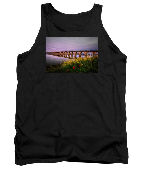 Springtime Reflections From Shipoke Tank Top by Shelley Neff