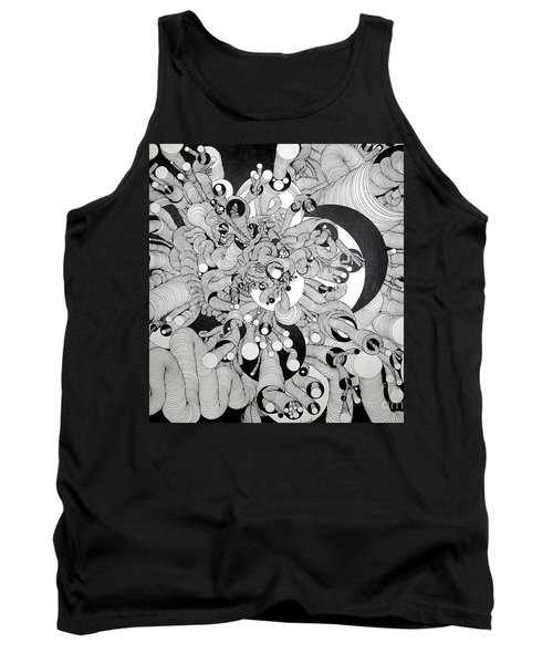 Squiggle Art By Amy Tank Top