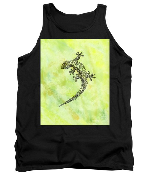 Squiggle Gecko Tank Top
