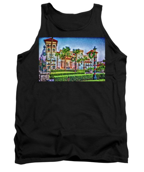 St. Augustine Downtown Christmas Tank Top
