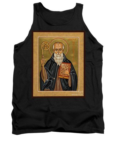 St. Benedict Of Nursia - Jcbnn Tank Top