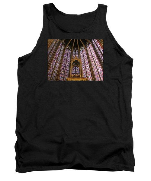 St Chapelle Paris Tank Top by Alan Toepfer