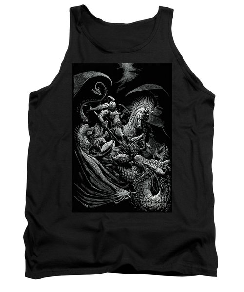 St. George And The Dragon Tank Top