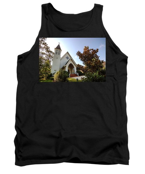 Tank Top featuring the photograph St. James V4 Fairhope Al by Michael Thomas