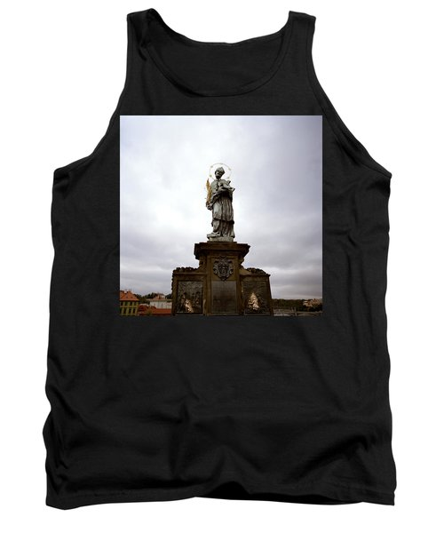 Saint John Of Nepomuk Tank Top by Shaun Higson