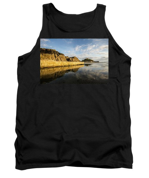 St Michaels Mount Cornwall  Tank Top