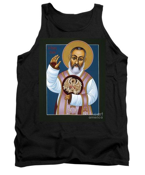 St Padre Pio Mother Pelican 047 Tank Top
