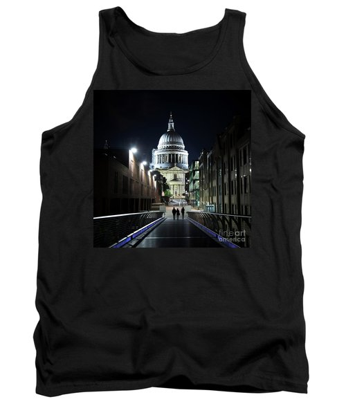 St Paul's Cathedral At Night Tank Top