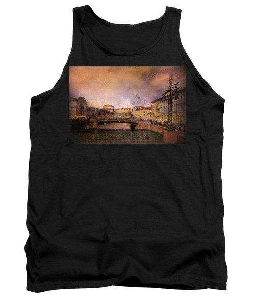 Tank Top featuring the photograph St Petersburg Canal by Jeff Burgess