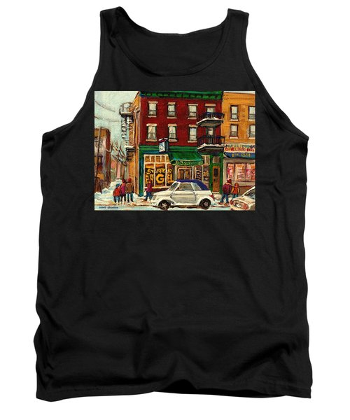 St Viateur Bagel And Mehadrins Deli Tank Top