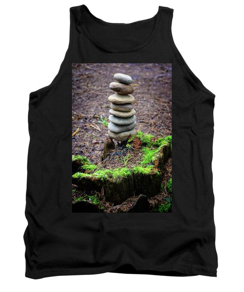 Tank Top featuring the photograph Stacked Stones And Fairy Tales II by Marco Oliveira