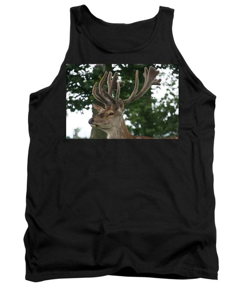 Stag Head. Tank Top