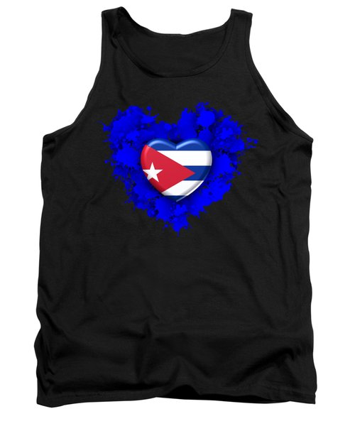 Stain Love To Cuba  Tank Top