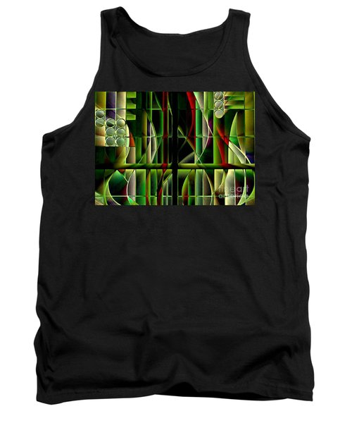 Stained Glass 2 Tank Top
