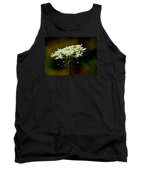 Tank Top featuring the photograph Stamens Of Queen Annes Lace 2  by Lyle Crump