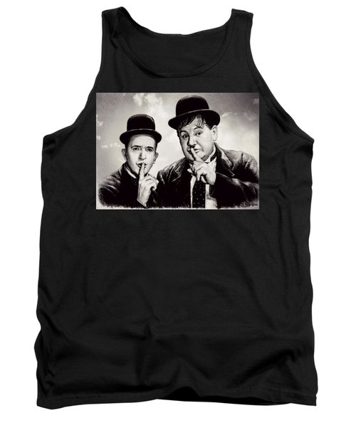 Stan And Ollie Comedy Duos Tank Top