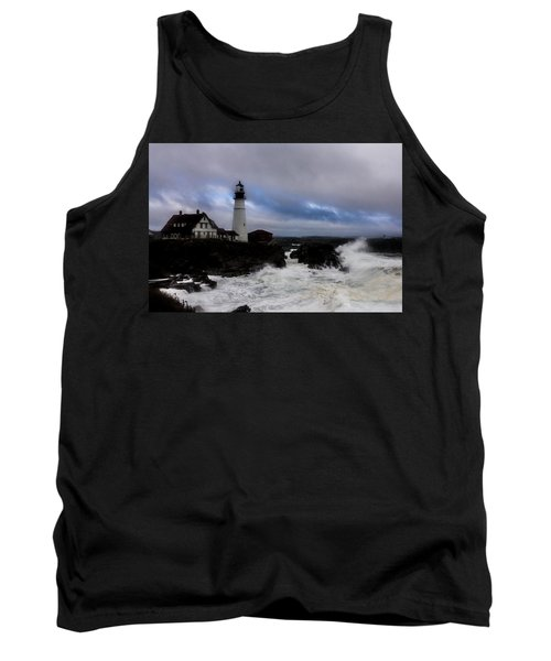 Standing In The Storm Tank Top