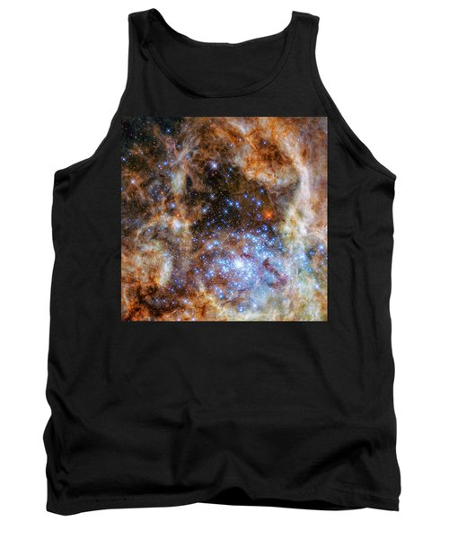 Tank Top featuring the photograph Star Cluster R136 by Marco Oliveira
