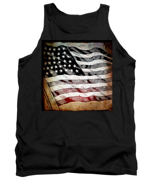 Star Spangled Banner Tank Top by Angelina Vick