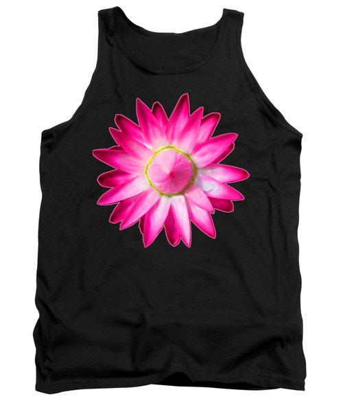 Starflower Opening  Mandala Tank Top