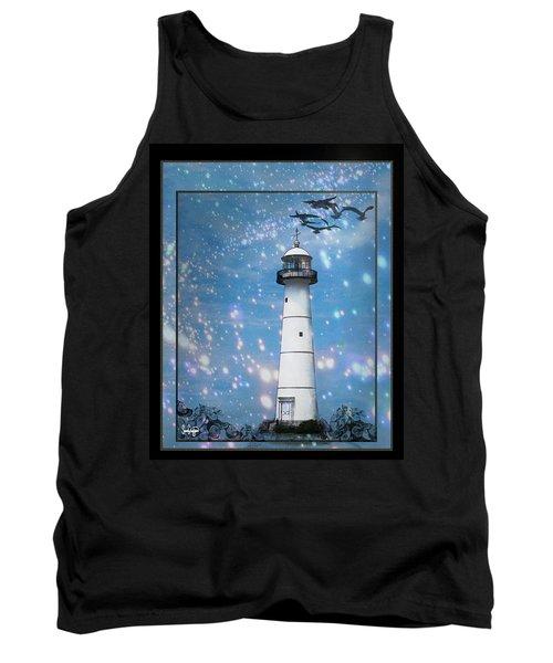 Starlight Lighthouse Tank Top